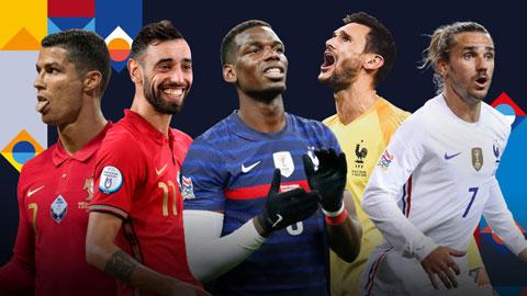 5 cầu thủ đáng xem nhất ở đại chiến Pháp vs Bồ Đào Nha