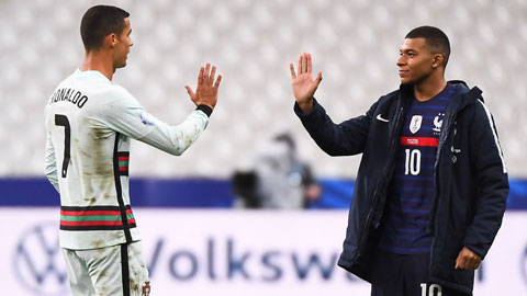 Đại chiến Pháp vs Bồ Đào Nha: Mbappe ở đâu so với Ronaldo?