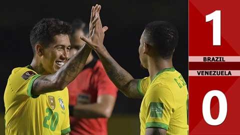 Brazil 1-0 Venezuela (Vòng loại World Cup 2022 khu vực Nam Mỹ)