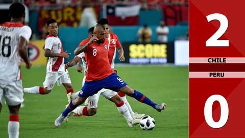 Chile 2-0 Peru (Vòng loại World Cup 2022 khu vực Nam Mỹ)