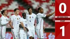 Bồ Đào Nha 0-1 Pháp (Nations League 2020/21 - League A bảng 3)