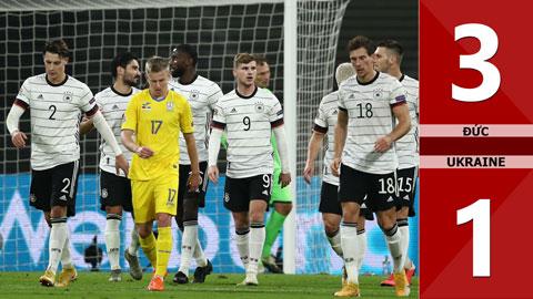 Đức 3-1 Ukraine (Nation League 2020/21 - League A bảng 4)