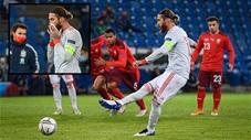 Suy sụp khi Sergio Ramos đá hỏng liền 2 quả penalty tại trận đấu với Thụy Sỹ