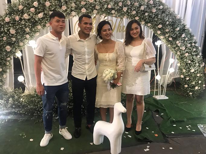 Ngô Tùng Quốc cũng có mặt để tham dự đám cưới cậu bạn thân
