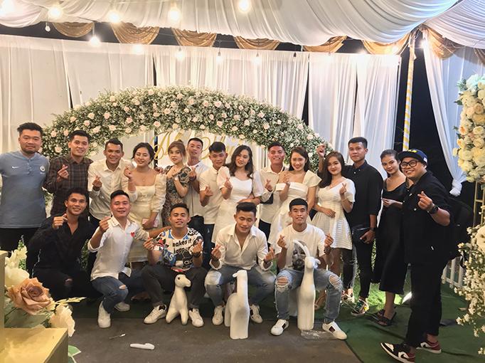 Những người bạn và anh em của Lâm Thuận và Quỳnh Như