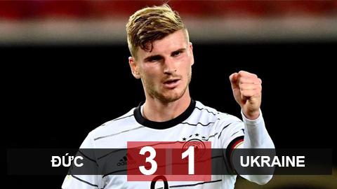 Kết quả Đức 3-1 Ukraine: Werner tỏa sáng, Đức vượt Tây Ban Nha lên đầu bảng