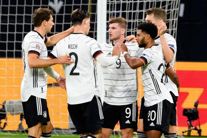 Werner ghi liền 2 bàn để ấn định tỷ số 3-1 cho Đức