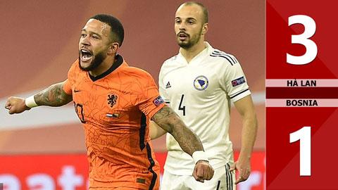 Hà Lan 3-1 Bosnia (Nations League 2020/21 - League A bảng 1)