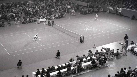 Những hình ảnh của lần đầu tiên ATP Finals được tổ chức do nhiếp ảnh gia Eiichi Kawatei ghi lại