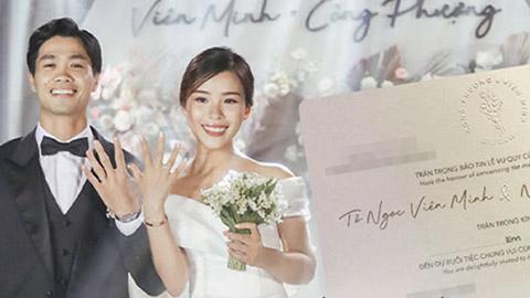 Công Phượng cưới vợ hiền Viên Minh