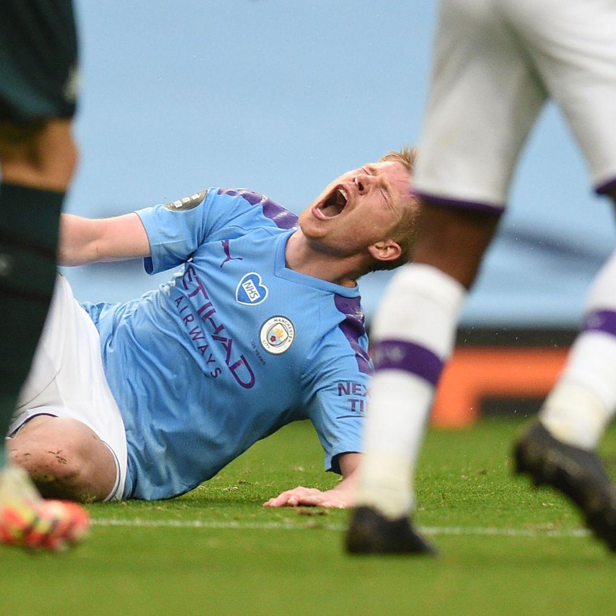 Chấn thương do thi đấu nhiều là cơn ác mộng của Man City và De Bruyne