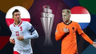2h45 ngày 19/11: Ba Lan vs Hà Lan