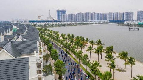Bùng nổ ngày hội thể thao đầu tiên bên bờ biển giữa trung tâm Thủ đô