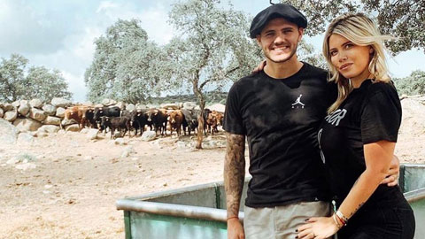 Vợ Icardi sắp thành bà chủ trang trại