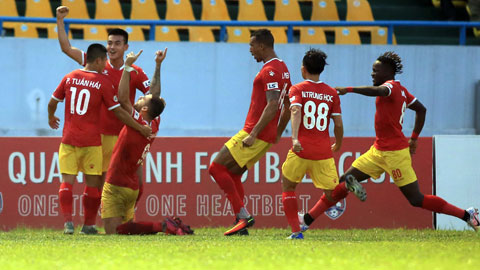 Hồng Lĩnh Hà Tĩnh hiện tượng của V.League