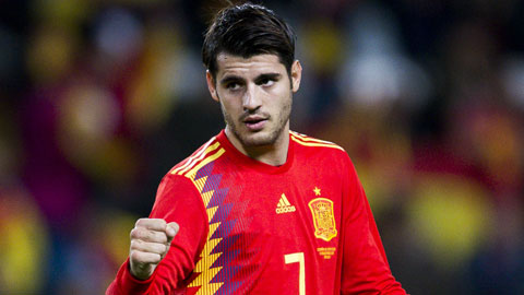 Morata không ghi bàn cho TBN trong 1 năm qua