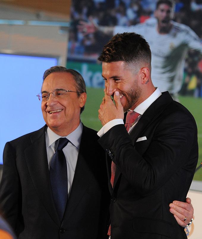 Ramos gọi mối quan hệ với Chủ tịch Perez là cha con