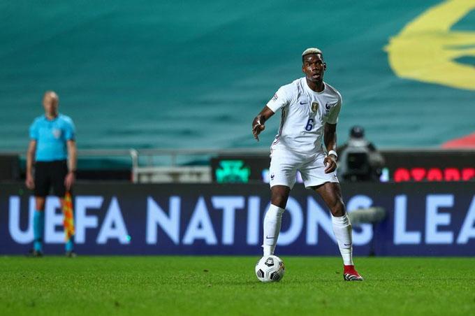 Pogba cho biết anh được giải thoát khi lên tuyển Pháp thi đấu