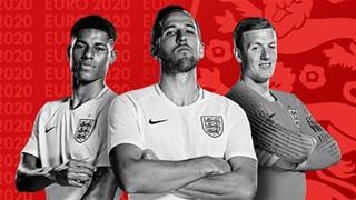 ĐT Anh dẫn đầu top 10 đội tuyển đắt giá nhất VCK EURO 2020