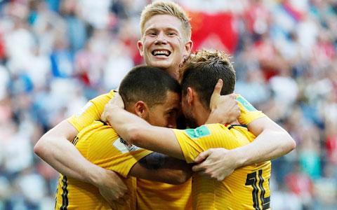 Ở thời điểm hiện tại, khó có đối thủ nào ngăn cản được ĐT Bỉ ăn mừng chiến thắng trên sân nhà