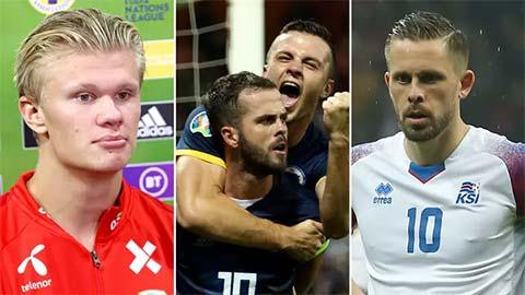 Oblak, Haaland & những ngôi sao đắt giá nhất lỡ hẹn EURO 2020