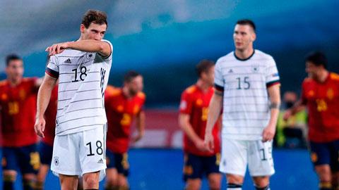 Đức lập hàng loạt kỷ lục buồn sau trận thua Tây Ban Nha