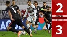 Croatia 2-3  Bồ Đào Nha (Bảng 3 League A - Nations League 2020/21)