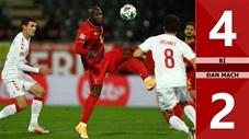 Bỉ 4-2 Đan Mạch (Nation League - League A bảng 2)