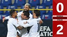 Bosnia and Herzegovina 0-2 Italy (Nation League - League A bảng 1)