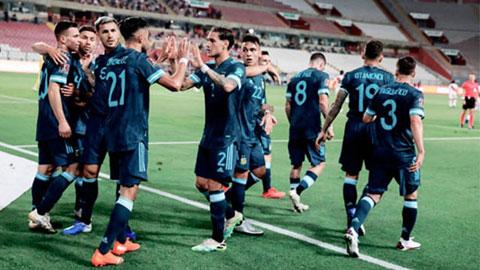 Argentina thắng 2-0 Peru: Albiceleste giờ mới giống một đội bóng