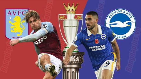 Nhận định bóng đá Aston Villa vs Brighton, 22h00 ngày 21/11