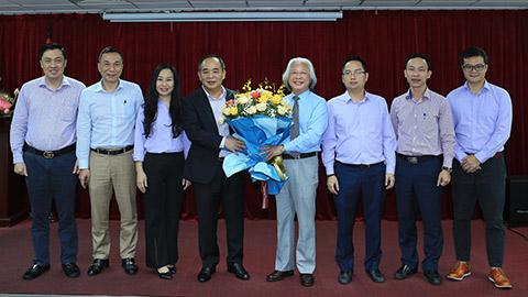 Chủ tịch VFF Lê Khánh Hải thăm và làm việc với Tạp chí Bóng đá