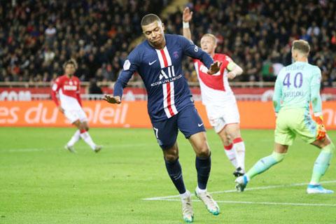 Mbappe và đồng đội PSG sẽ lại xé lưới Monaco