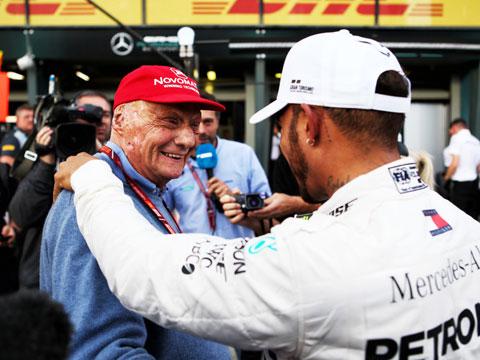 Niki Lauda, người truyền cảm hứng cho Lewis Hamilton