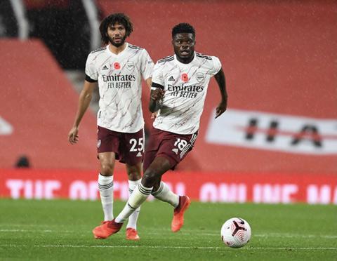 Partey và Elneny vắng mặt ở trận gặp Leeds United