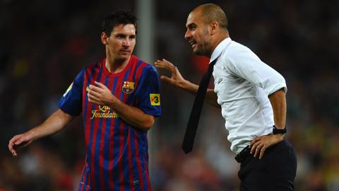 Guardiola muốn Messi giải nghệ ở Barca