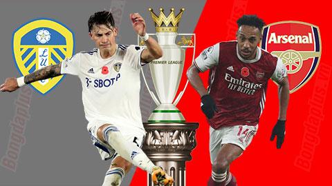 Nhận định bóng đá Leeds vs Arsenal, 23h30 ngày 22/11: Sức mạnh của kẻ nổi loạn