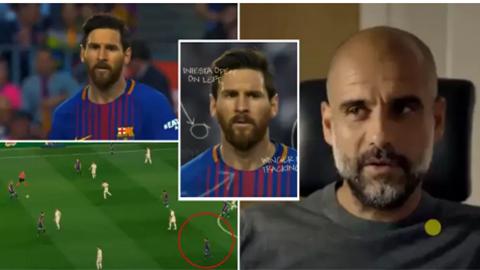 Guardiola giải thích tại sao Messi lại đi bộ ngay từ đầu mỗi trận đấu