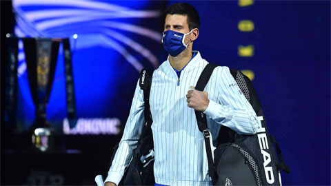 Bán kết ATP Finals 2020: Djokovic - Phía trước là bầu trời