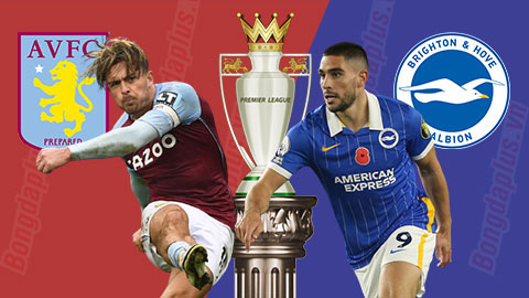 Soi kèo Aston Villa vs Brighton, 22h00 ngày 21/11