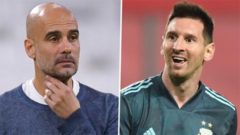 Guardiola nói gì về cơ hội tái ngộ Messi ở Man City?