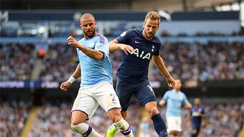 00h30 ngày 22/11, trực tiếp Tottenham vs Man City