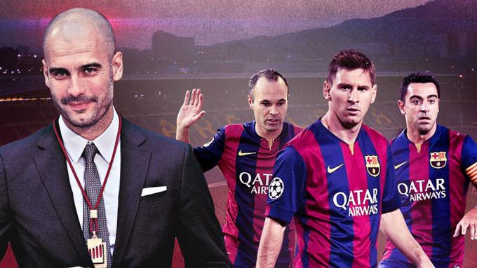 Pep bị chê chỉ có thể vô địch Champions League nhờ bộ ba Messi - Iniesta - Xavi