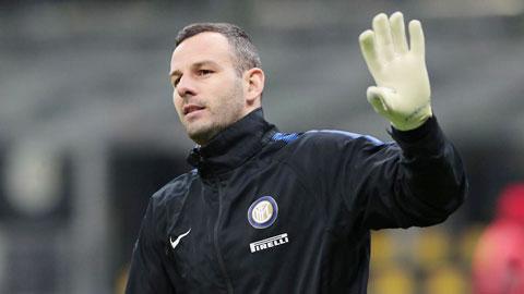Handanovic sẽ phải dự bị tại Inter từ mùa tới