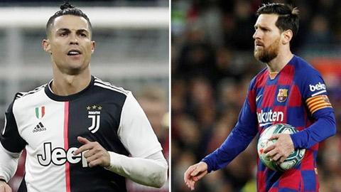 Ronaldo đang 'hồi xuân' còn Messi trên đà lao dốc