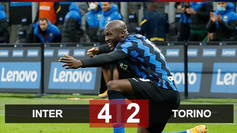 Kết quả Inter 4-2 Torino: Sanchez, Lukaku giúp Inter lội ngược dòng ấn tượng
