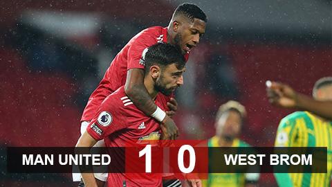 Kết quả M.U 1-0 West Brom: Phá dớp tại Old Trafford