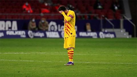 Barca khởi đầu tệ nhất 25 năm qua