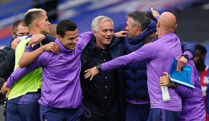 Với chiến thắng trước Man City, Mourinho cho thấy Tottenham đã sẵn sàng đua vô địch mùa này