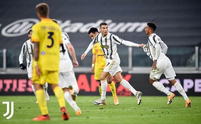 Ronaldo đã có một trận đấu rất ấn tượng